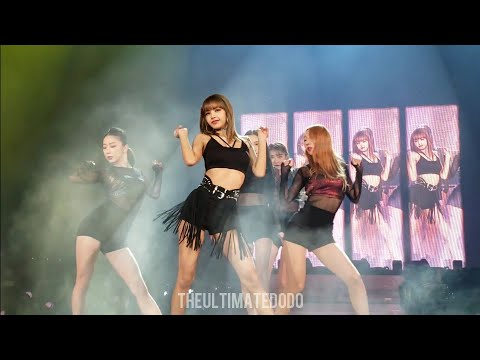 190424 Lisa Solo Swalla Dance @ Blackpink In Your Area Chicago Concert Live Fancam
