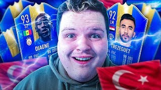 Using a FULL TOTS SUPER LIG TEAM in fut champs on FIFA 19...