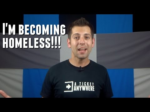 I'm Becoming Homeless!!! [Special Announcement]