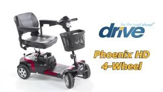 Drive Medical Phoenix HD 4 Wheel Electric Scooter