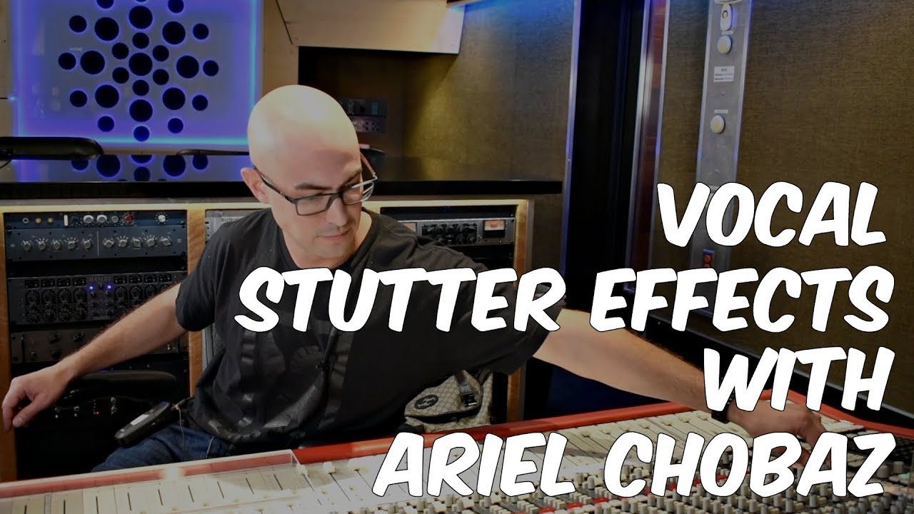 how to create vocal stutter effects with ariel chobaz warren huart produce like a pro youtube. Black Bedroom Furniture Sets. Home Design Ideas