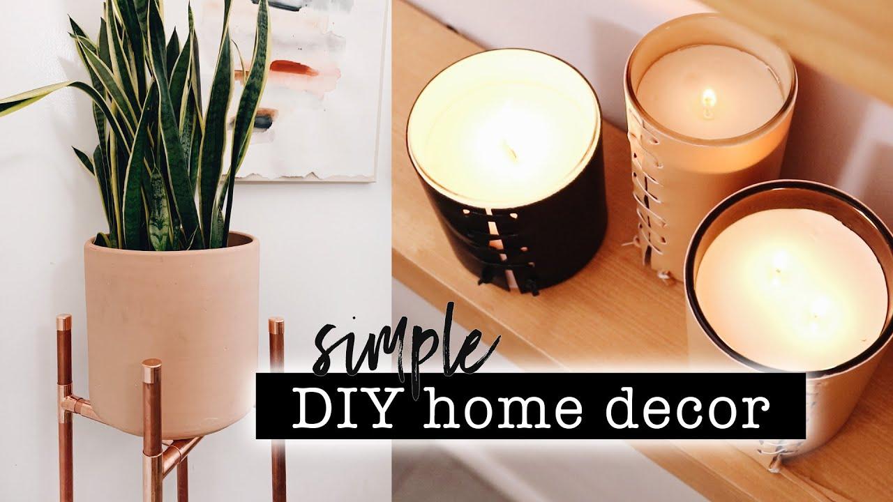 SIMPLE DIY HOME DECOR // Entryway Makeover Part 1  | XO, MaCenna