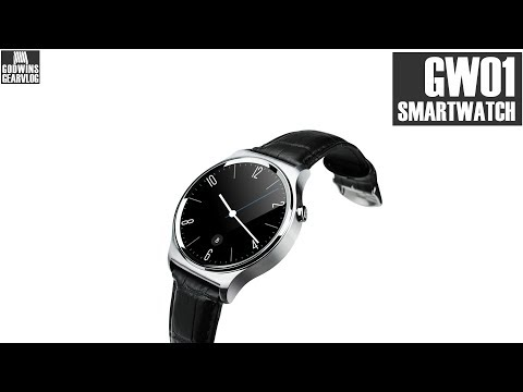Smart Watch - Chytré hodinky GW01 - Recenze (CZ)