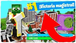 😂 ¡Jugamos a ESPAÑA en ESPAÑA! FORTNITE: Battle Royale en MINECRAFT! [2] thumbnail