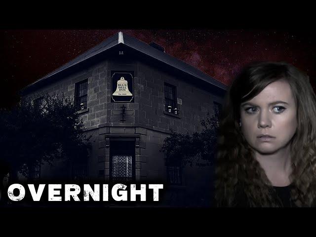 I Filmed Myself Sleeping in a HAUNTED Inn | GHOST of a Murder Victim from 1840