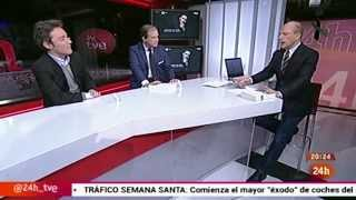 Daniel Ligorio en canal 24 horas de Televisión Española