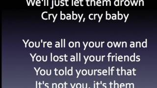 cry baby clean lyrics