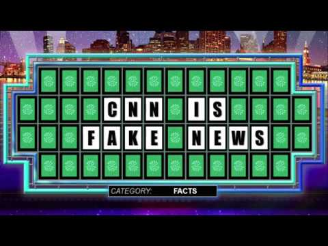 President Trump Wins Wheel Of Fortune!