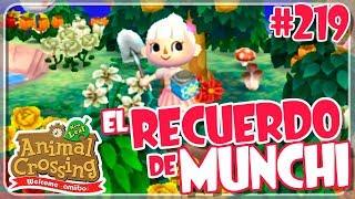 EL RECUERDO DE MUNCHI #219 ANIMAL CROSSING NEW LEAF WELCOME AMIIBO