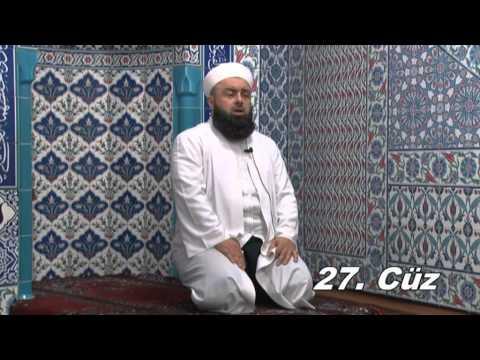 Fatih Medreseleri Masum Bayraktar Hoca Mukabele 27. Cüz