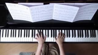 2016年8月23日 録画、 使用楽譜;月刊Piano増刊 ピアノで楽しむクリスマ...