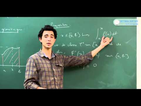 Les Intégrales. Cours maths sup, prépa HEC, prépa BCPST