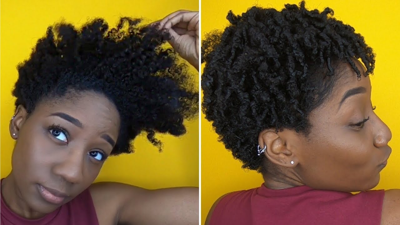 WASH N GO ON TAPERED CUT | NATURAL HAIR
