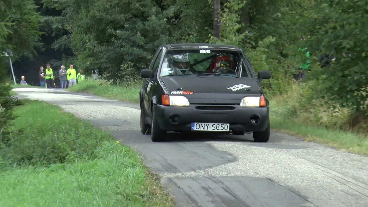 Super Sprint Lipowiec 2017 – Krystian Czerwiński / Aleksandra Karczewska – Ford Fiesta