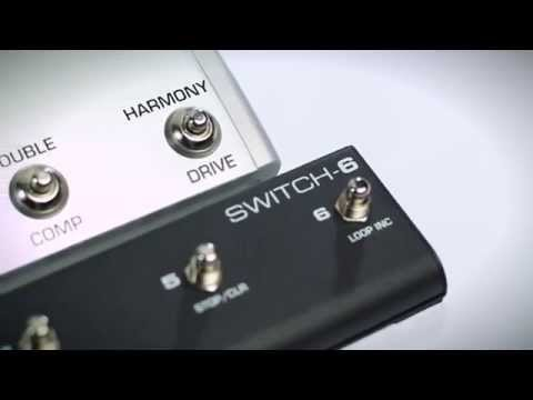 Introducing Switch-6 - Extended Remote Control of TC-Helicon Vocal & Guitar Multi-FX