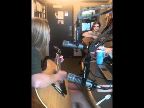 Natalie and Cailin on 965 The Buzz Music  2MOV