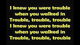 Taylor Swift I Knew You Were Trouble [Lyrics]