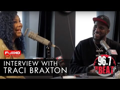 DJ Scream - Traci Braxton Interview with DJ Scream | Hoodrich Radio