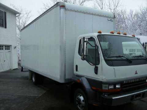 1999 mitsubishi fh 22ft box truck diesel clean video youtube. Black Bedroom Furniture Sets. Home Design Ideas