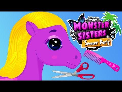 Fun Horse Care Games - Girls Pony Makeover, Makeup Nail Hair Beauty Salon Girls & Kids Games