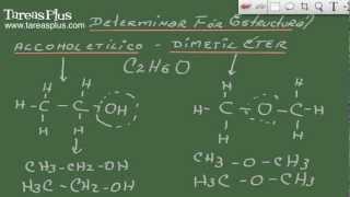 Determinación de la fórmula estructural