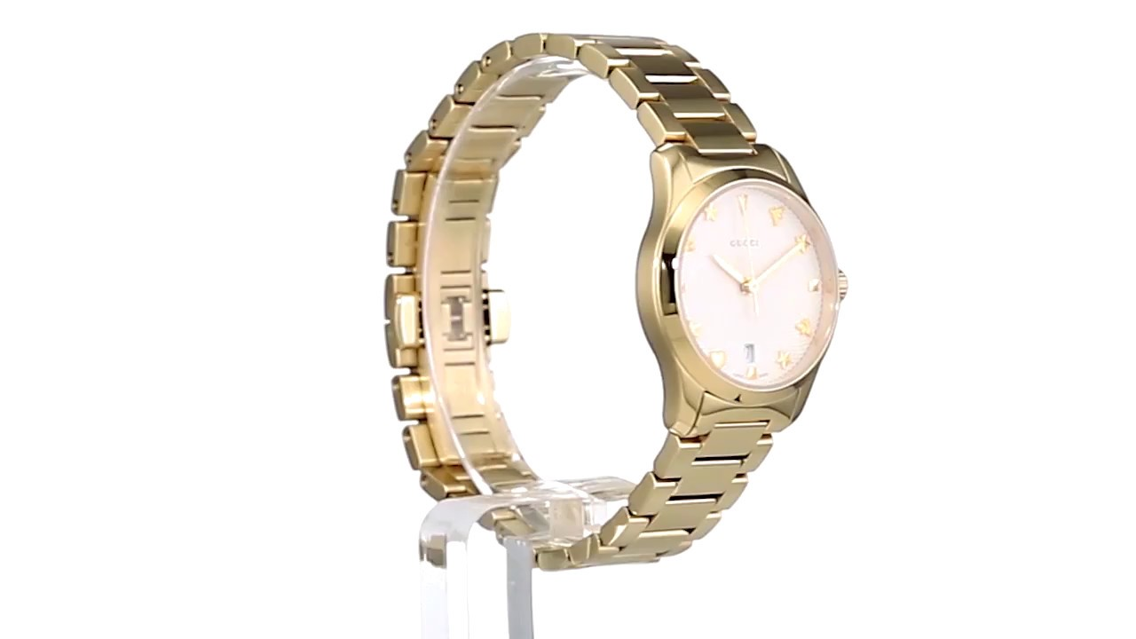 2b617bdf53c Gucci G-Timeless - YA126576 SKU 8947408 - YouTube