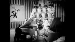 Cab Calloway, Dorothy Donegan, Gene Rodgers; Sensations Of 1945: Ebony Rhapsody +orch. riffs