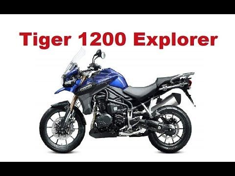 the best adventure motorcycles - triumph tiger 1200 explorer 2017