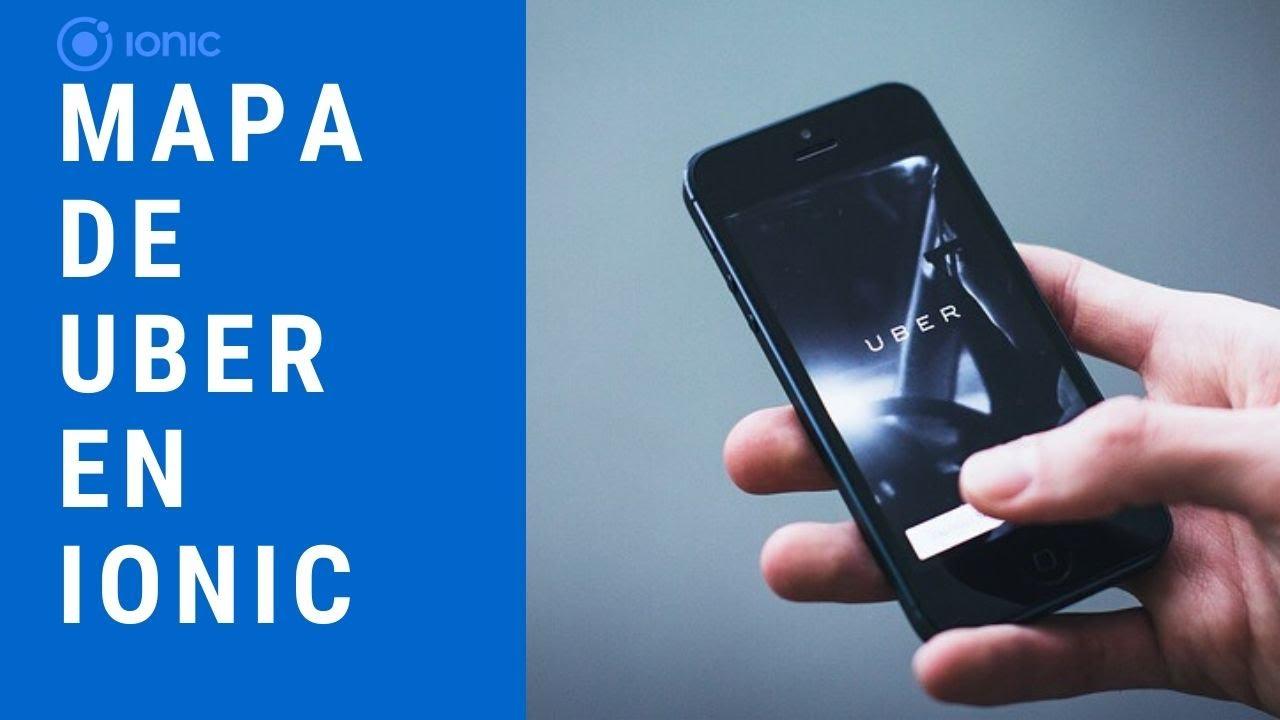 Estilos De Uber En Mapa De Google Usando Ionic 4 5 Youtube