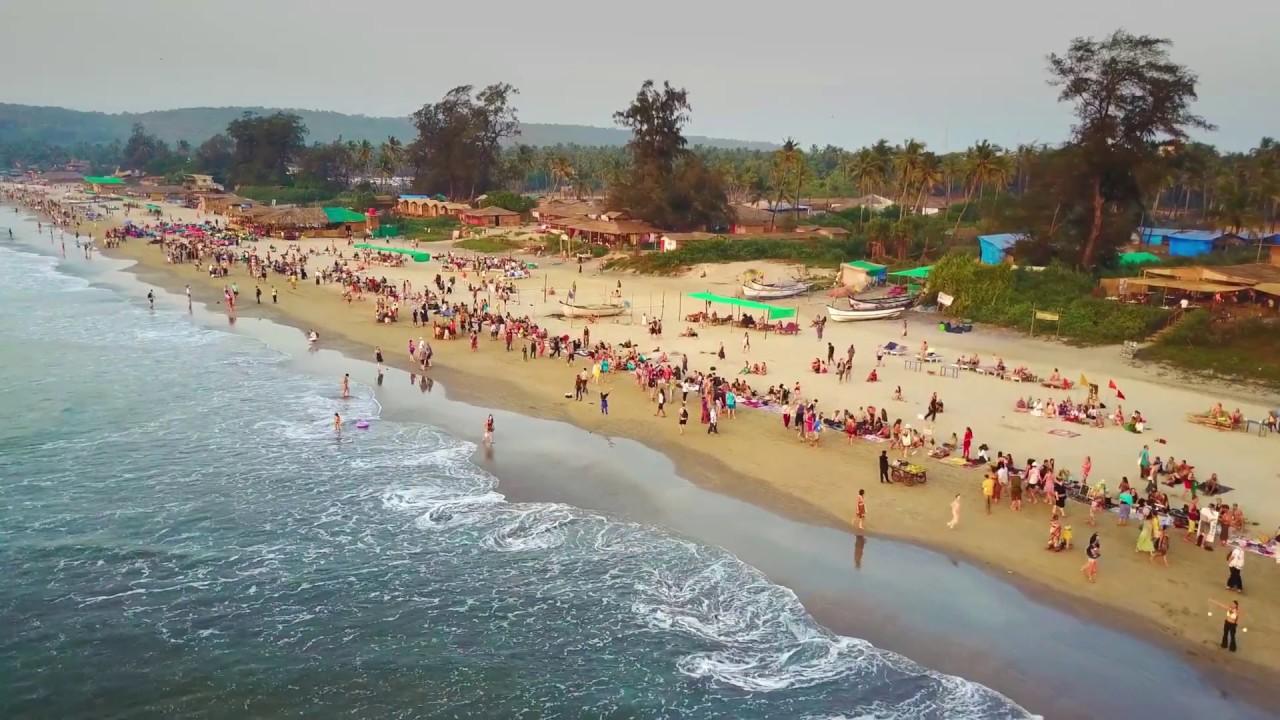 Arambol North Goa Harmal Beach Before The Susnet