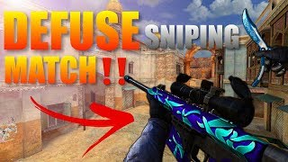 Forward Assault Defuse Sniping Match Gameplay‼️