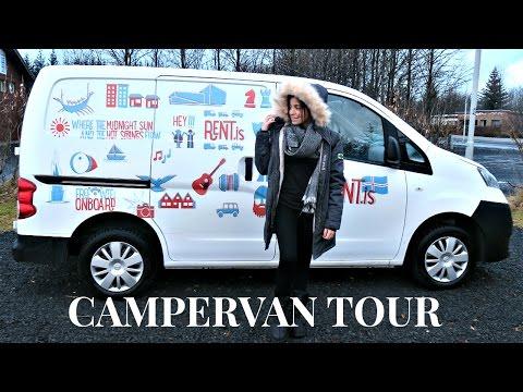 Iceland Camper Van RV Tour!