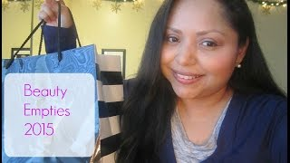 Beauty Empties 2015 Thumbnail