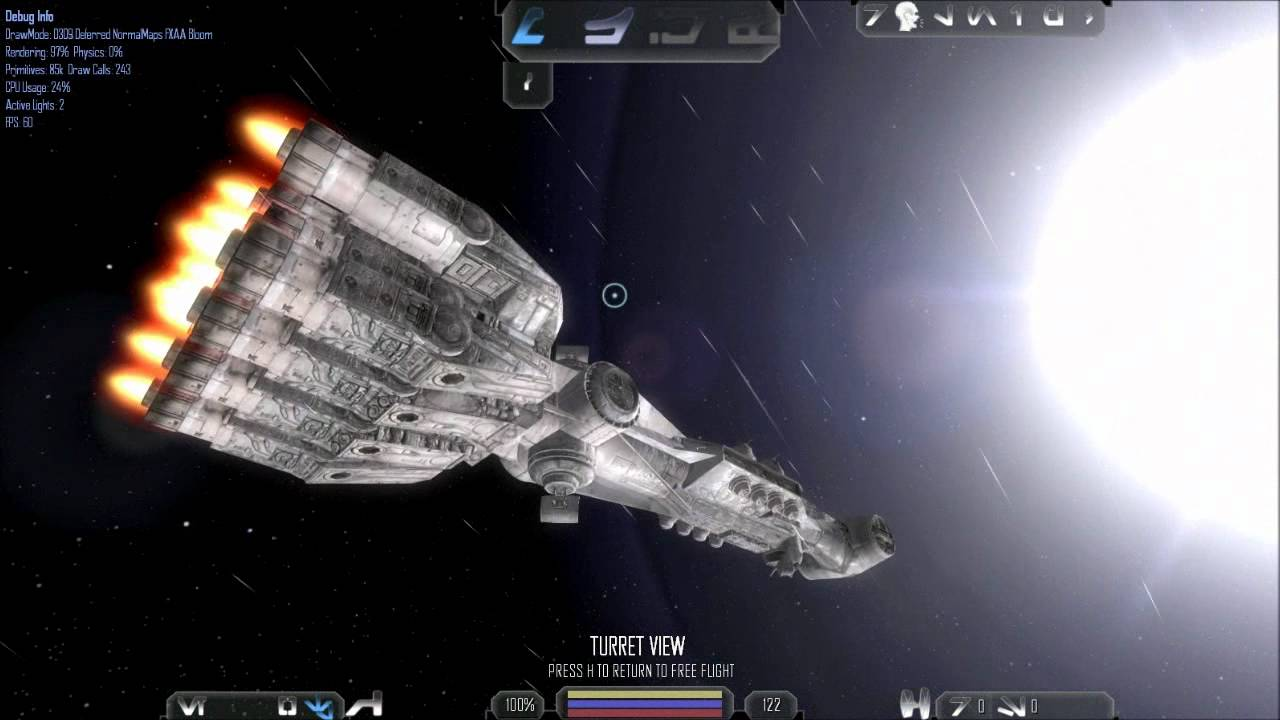 Cr90 Corellian Corvette Normal And Specular Mapping Youtube