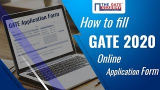 How to Fill GATE 2020 Application Form | GATE Online Form 2020 | GOAPS