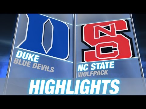 Duke vs North Carolina State | 2014-15 ACC Men's Basketball Highlights