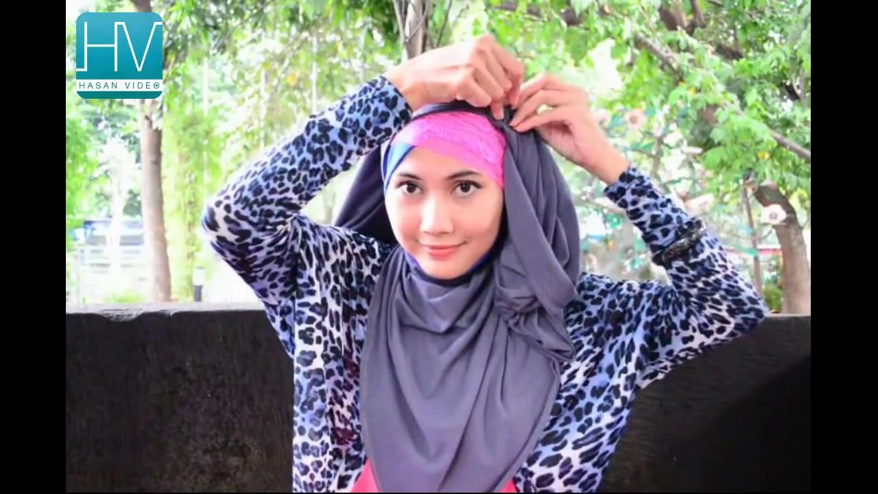 Hijab Fashion Tutorial Hijab Pashmina By Didowardah Part 31 YouTube