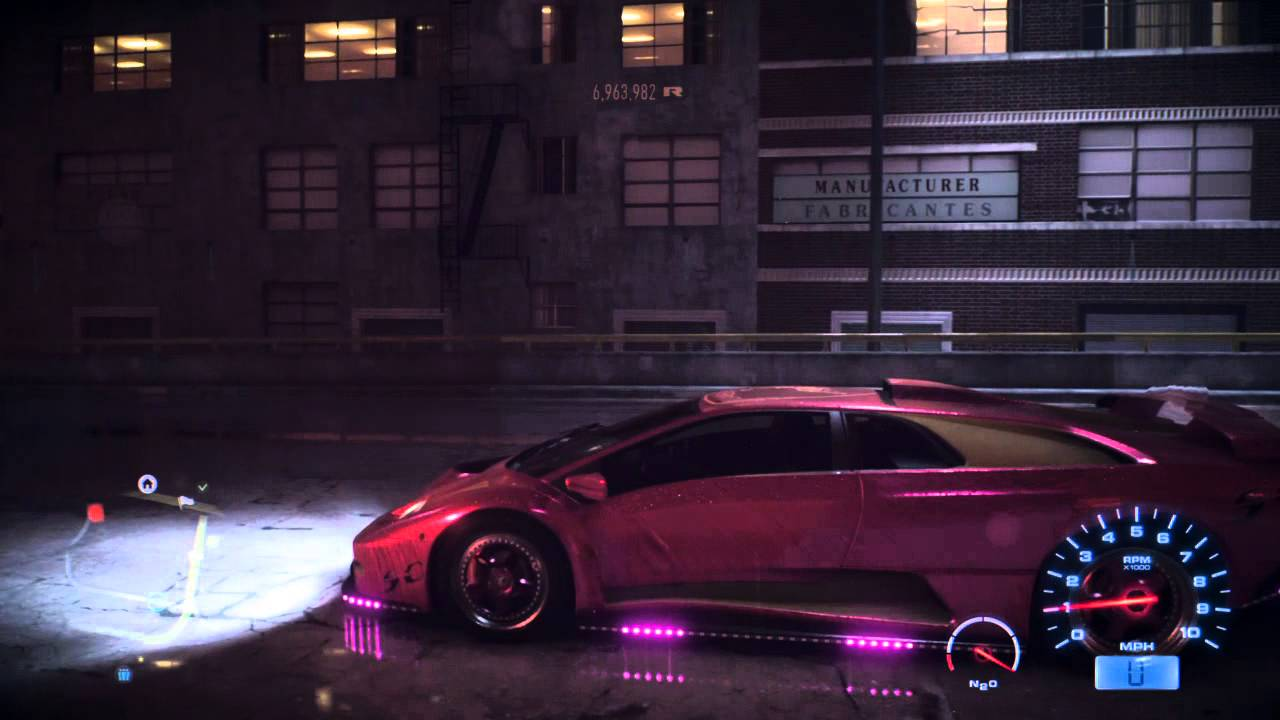 Need For Speed Otrgamer Tv Custom Made Lamborghini Diablo With Neons