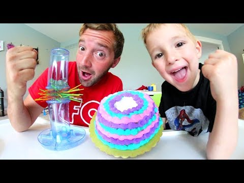 Thumbnail: Father & Son CAKE IN FACE GAME CHALLENGE! / Kerplunk Time!