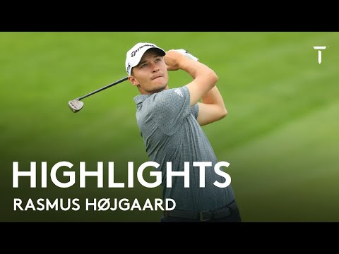 Rasmus Højgaard cards new course record 62   2021 Cazoo Classic