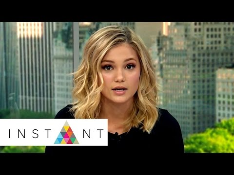 How Olivia Holt Deals With Bullies | Instant Exclusive | INSTANT