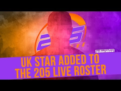 UK Star Added To The 205 Live Roster