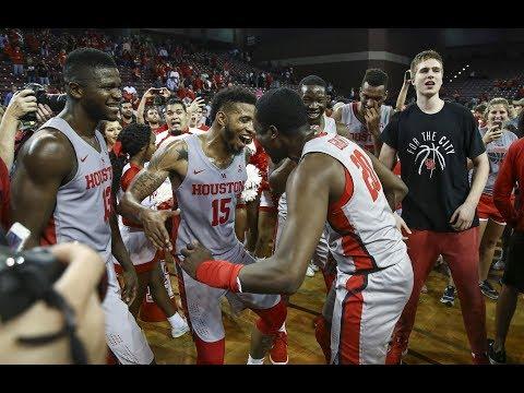 Men's Basketball Highlights - Houston 67, #5 Cincinnati 62