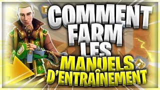HOW TO FARM THE ENTRAINEMENT MANUELS? FORTNITE SAUVER THE WORLD