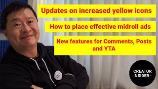 THIS WEEK AT YOUTUBE: Mid Roll Ad Tips, Update on Yellow Icons, and Experiments!