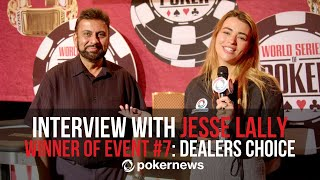 Interview With Bracelet Winner Jesse Lally: How To Learn And Win At The Same Time