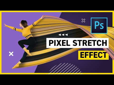 Pixel Stretch Effect In Photoshop CC 2019