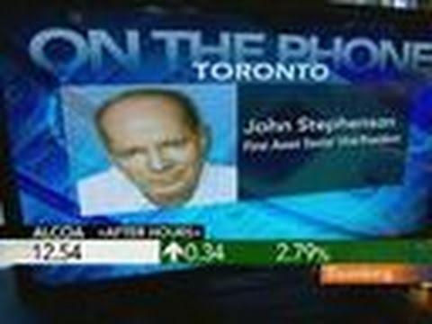 John Stephenson Says Alcoa Stock `Poised' to Rise: Video