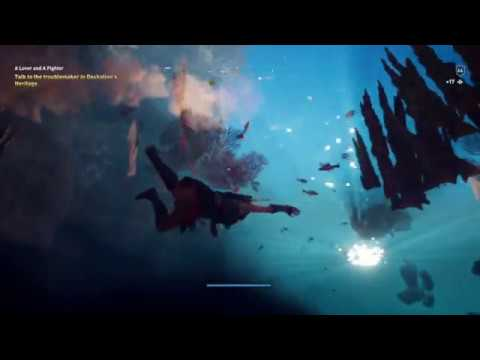 Assassin S Creed Odyssey Fate Of Atlantis Dlc Glitch Falling