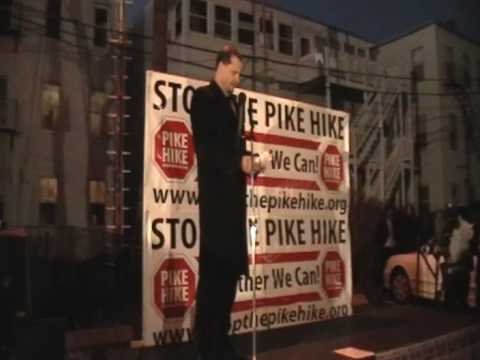 Senator Bob Hedlund-STOP THE PIKE HIKE RALLY-